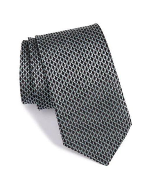 John W. Nordstrom | Black John W. Nordstrom 'grayson Mini' Silk Tie for Men | Lyst