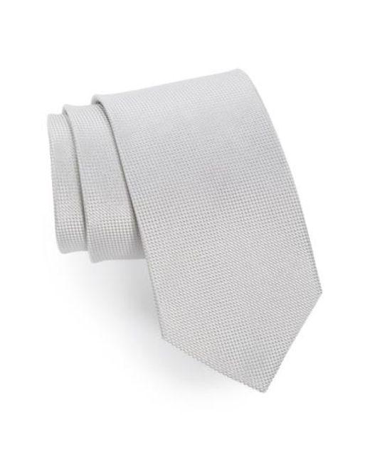 John W. Nordstrom   Metallic John W. Nordstrom 'ryder' Silk Tie for Men   Lyst