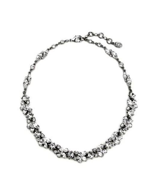 Ben-Amun | Metallic 'crystal Vine' Collar Necklace | Lyst