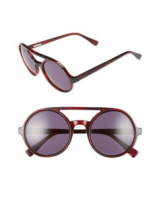 Derek Lam   Multicolor 'morton' 52mm Sunglasses   Lyst