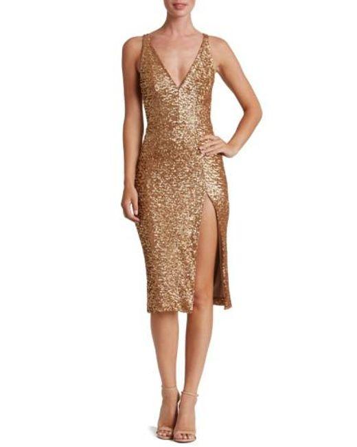 Dress the Population | Multicolor Camilla Sequin Dress | Lyst