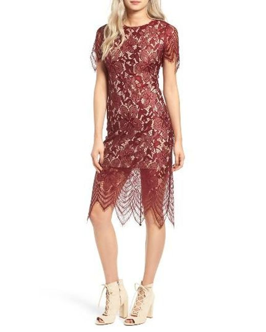 Red lace dress nordstrom men
