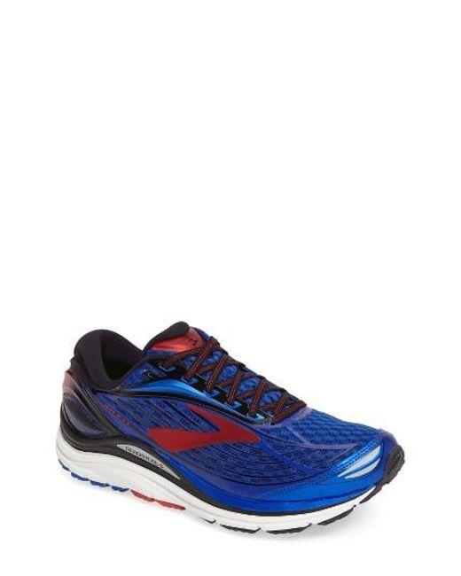 Brooks   Blue Transcend 4 Running Shoe for Men   Lyst
