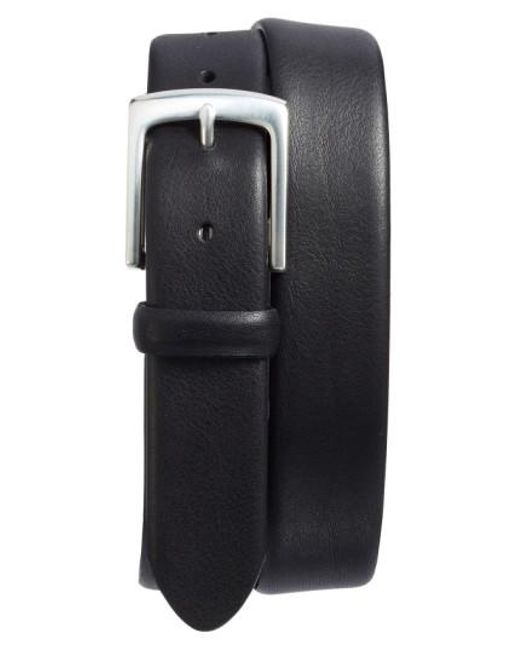 Bosca | Black Tubular Leather Belt for Men | Lyst