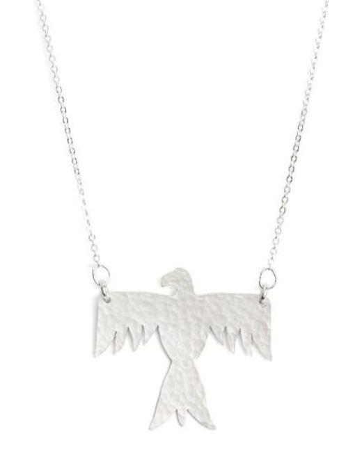 Nashelle   Metallic Phoenix Pendant Necklace   Lyst