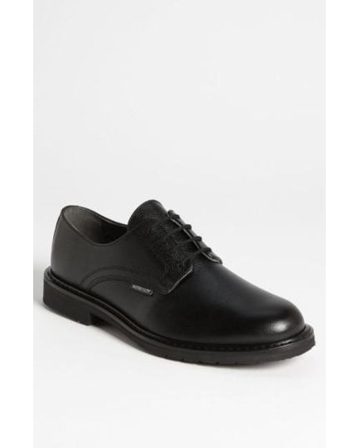 Mephisto - Black 'marlon' Derby for Men - Lyst