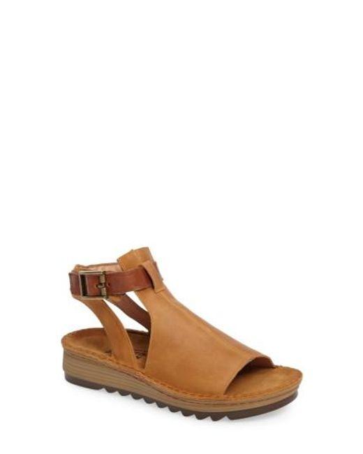Naot | Brown Verbena Sandal | Lyst