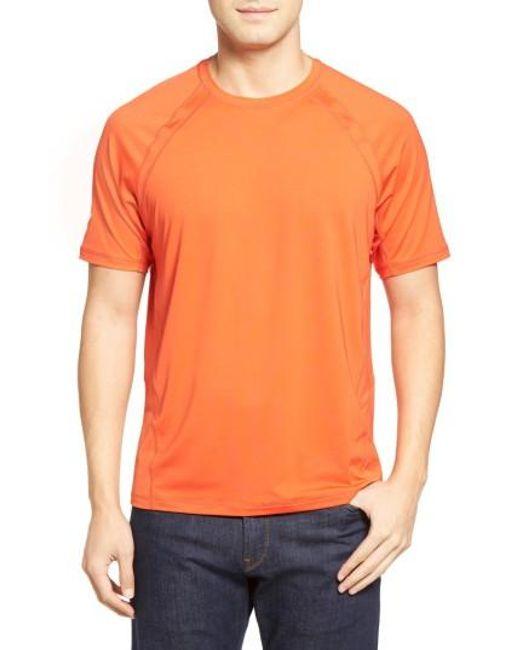 Tommy Bahama | Orange Surf Chaser Crewneck T-shirt for Men | Lyst