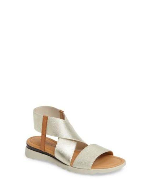 The Flexx | Metallic Extra Sandal | Lyst