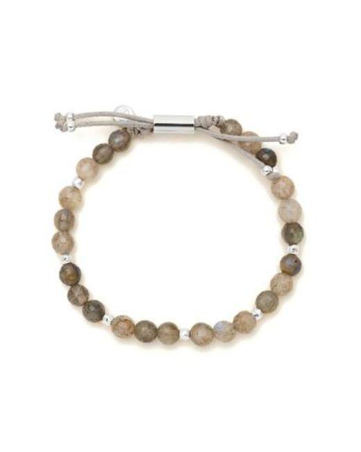 Gorjana | Metallic Power Semiprecious Stone Beaded Bracelet | Lyst