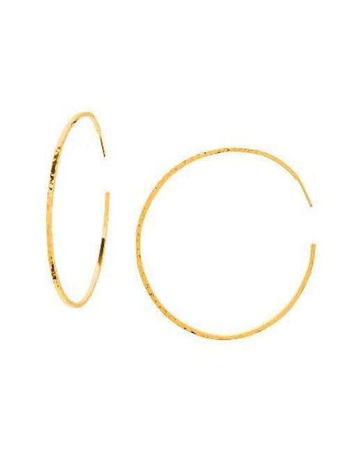 Gorjana   Metallic Taner Extra Large Hoop Earrings   Lyst