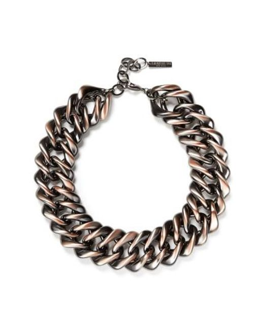 Lafayette 148 New York | Multicolor Reversible Chain Link Necklace | Lyst