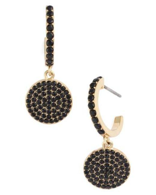 Kate Spade | Metallic Shine On Pave Drop Earrings | Lyst