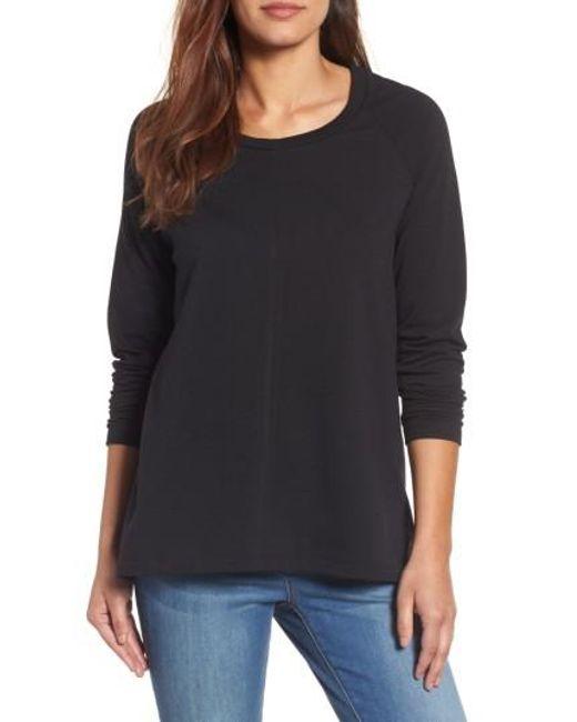 Caslon | Black Caslon A-line Sweatshirt | Lyst