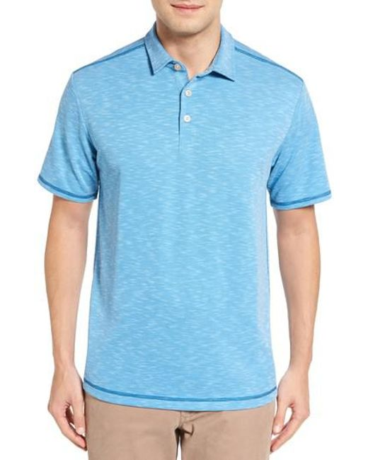 Tommy Bahama | Blue New Double Tempo Spectator Jersey Polo for Men | Lyst