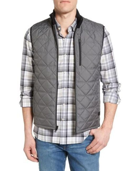 Victorinox   Gray Victorinox Swiss Army Quilted Vest for Men   Lyst