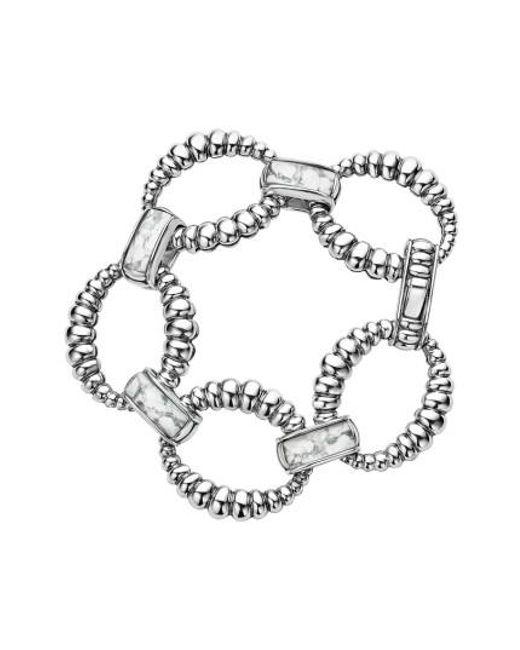 Lagos | Metallic Maya Fluted Link Bracelet | Lyst