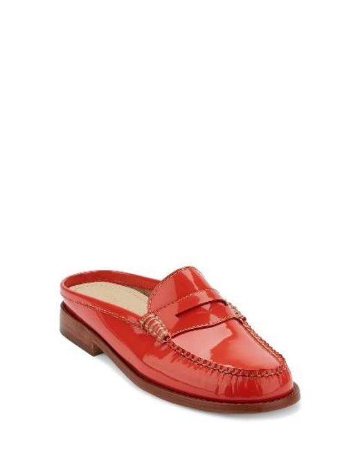 G.H. Bass & Co. | Red Wynn Loafer Mule | Lyst
