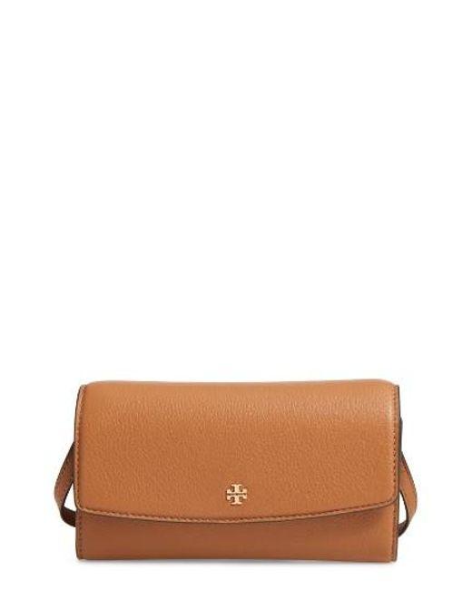 Tory Burch   Multicolor Leather Wallet Crossbody Bag   Lyst