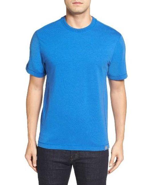 Thaddeus | Blue Steve Stretch Jersey T-shirt for Men | Lyst