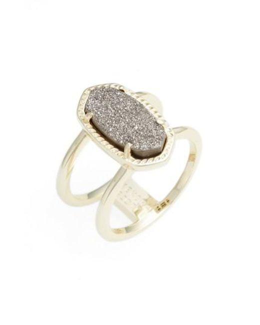 Kendra Scott | Metallic Elyse Ring | Lyst