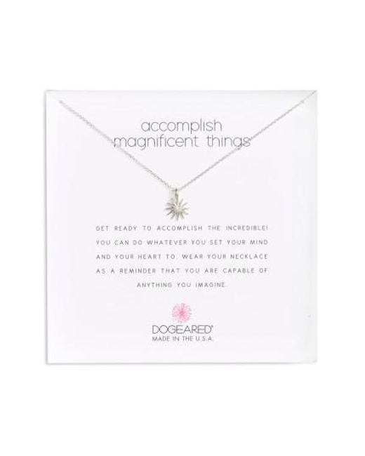 Dogeared | Metallic Starburst Pendant Necklace | Lyst
