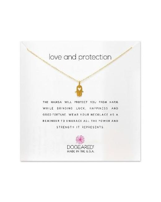 Dogeared   Metallic Love & Protection Pendant Necklace   Lyst