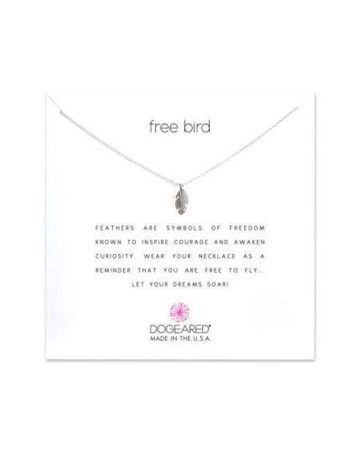 Dogeared | Metallic Reminder - Free Bird Pendant Necklace | Lyst