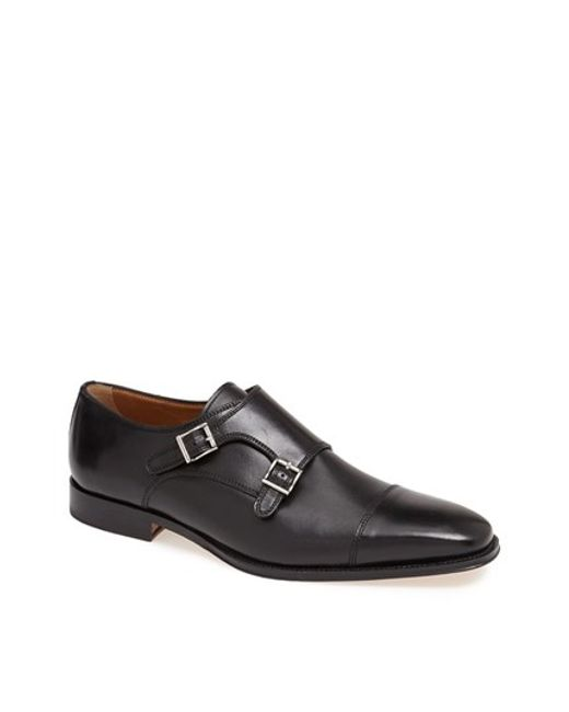 Florsheim | Black 'classico' Double Monk Strap Slip-on for Men | Lyst