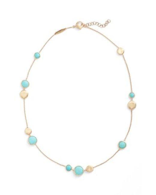 Marco Bicego | Metallic Jaipur Stone Collar Necklace | Lyst