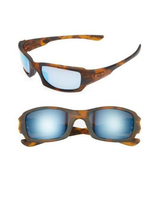 Oakley | Blue Fives Squared H2o 54mm Polarized Sunglasses for Men | Lyst