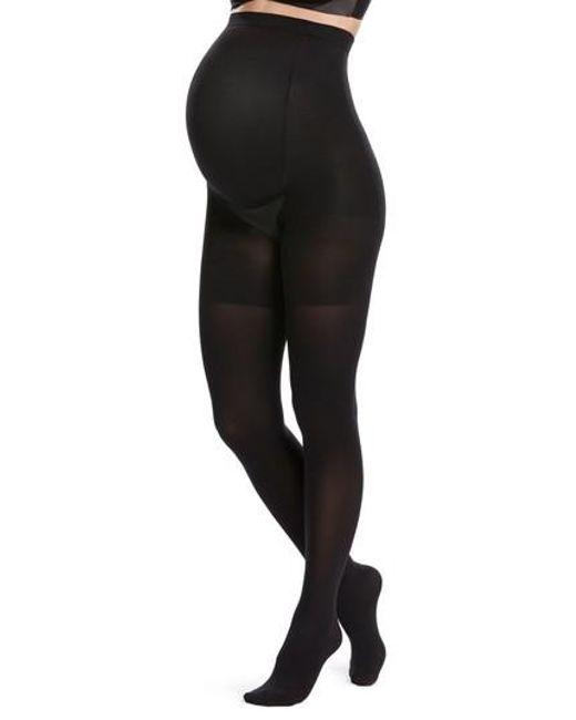 Spanx | Black Spanx Mama Tights | Lyst