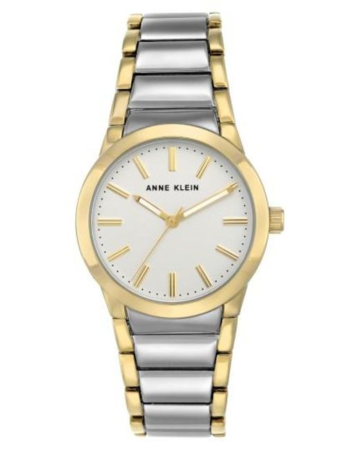 Anne Klein | Metallic Link Bracelet Watch | Lyst