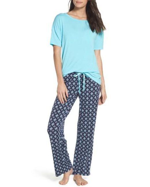 Pj Salvage | Blue Pajamas | Lyst