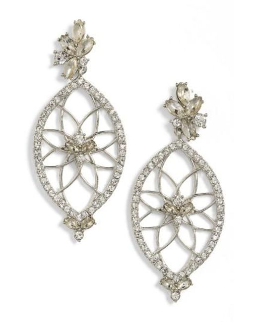 Jenny Packham | Metallic Glistening Shadows Dream Catcher Drop Earrings | Lyst