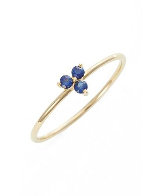 EF Collection | Blue Gemstone Ring | Lyst