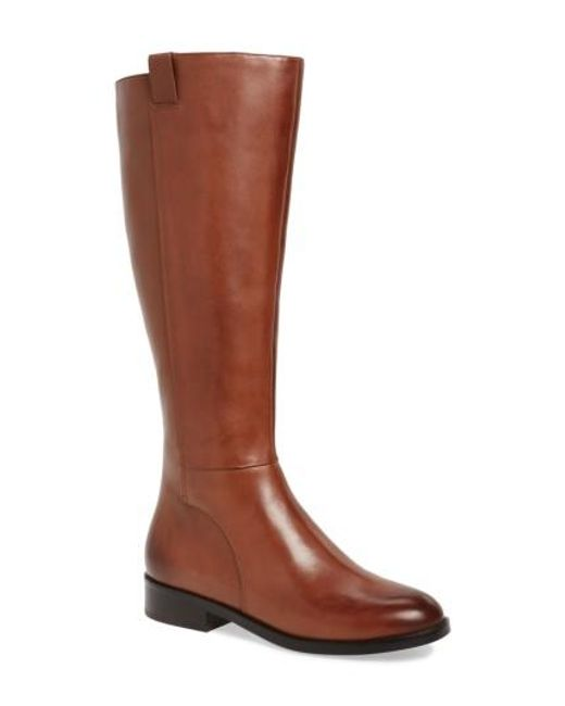 Cole haan Katrina Riding Boot in Brown | Lyst