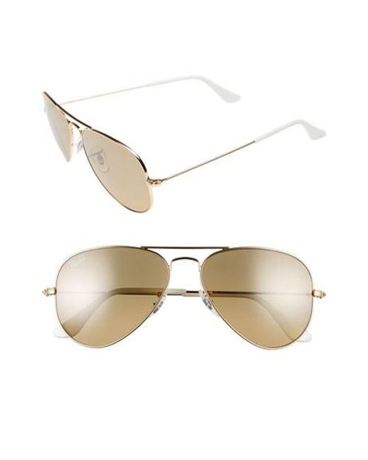 ray ban original small aviator 55mm sunglasses  ray ban