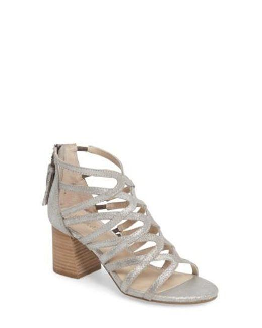 Seychelles | Metallic One Kiss Sandal | Lyst