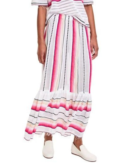 Lemlem | Pink Adia Convertible Cover-up Skirt | Lyst