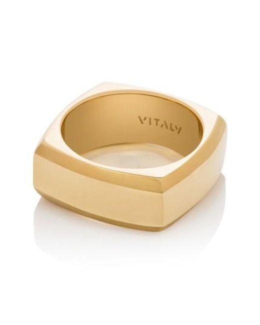 Vitaly | Metallic Frya Ring | Lyst