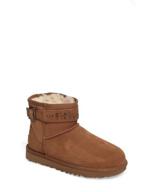 Ugg | Brown Ugg Jadine Boot | Lyst