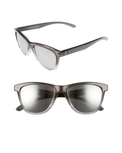 Oakley   Multicolor Moonlighter 53mm Polarized Sunglasses - Dark Ink/ Chrome Iridium P   Lyst