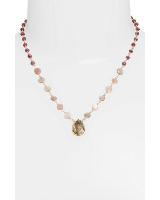 Ela Rae | Multicolor Ara Collar Necklace | Lyst