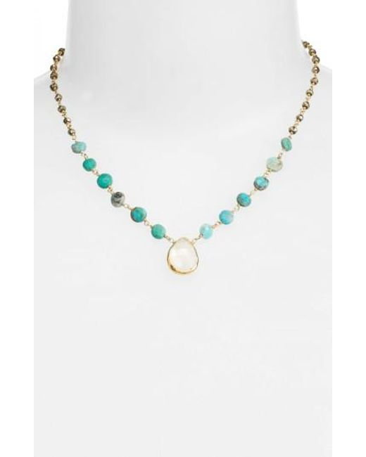 Ela Rae | Metallic Ara Collar Necklace | Lyst