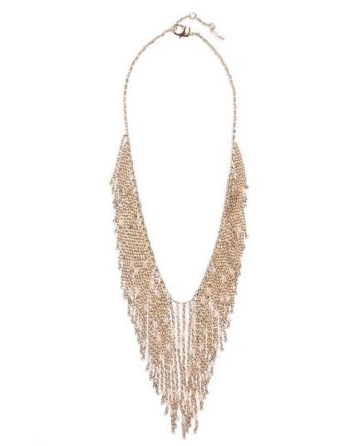 St. John   Metallic Swarovski Crystal Chain Necklace   Lyst