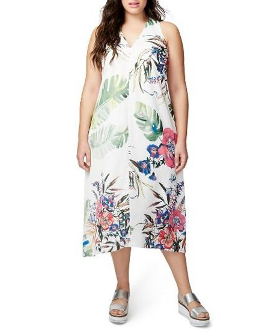 RACHEL Rachel Roy | Multicolor Print Maxi Dress | Lyst