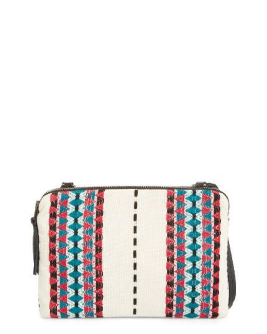 Mercado Global | Red Andrea Canvas Crossbody Bag | Lyst