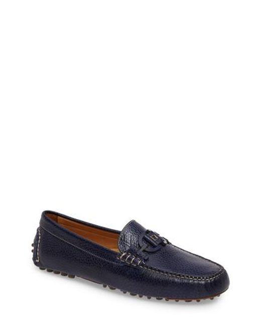 Donald J Pliner | Blue Riel Driving Loafer for Men | Lyst