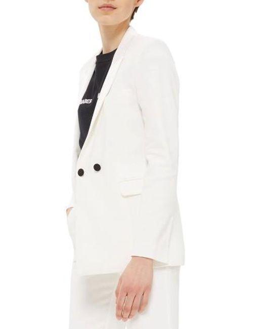 TOPSHOP | White Tux Suit Jacket | Lyst